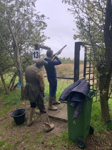 client clay pigeon shooting